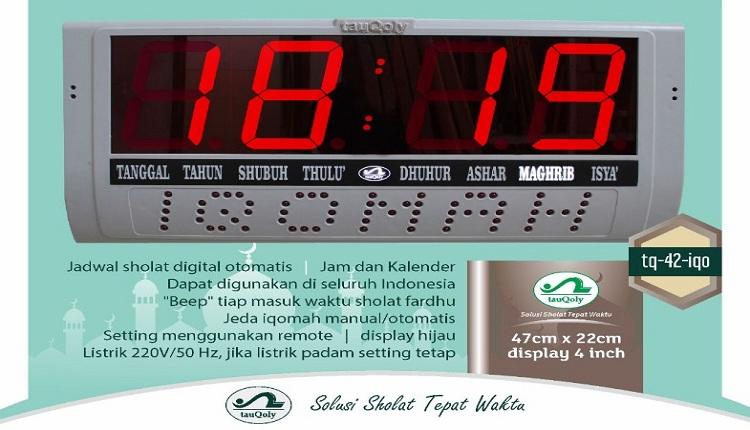 Jual Jam Masjid Digital di Kontu Kowuna