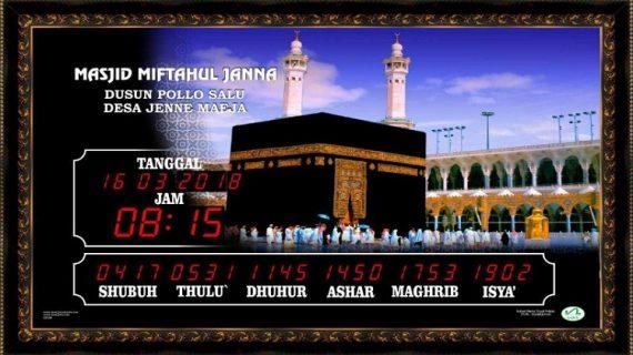 Jual Jam Masjid Digital di Telaga Langsat