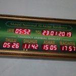 Jual Jam Masjid Digital di Anggrek