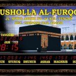 Jual Jam Masjid Digital di Pegunungan Bintang