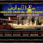 Jual Jam Masjid Digital di Kalapanunggal