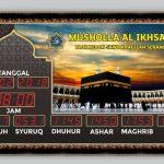 Jual Jam Masjid Digital di Tangerang Selatan